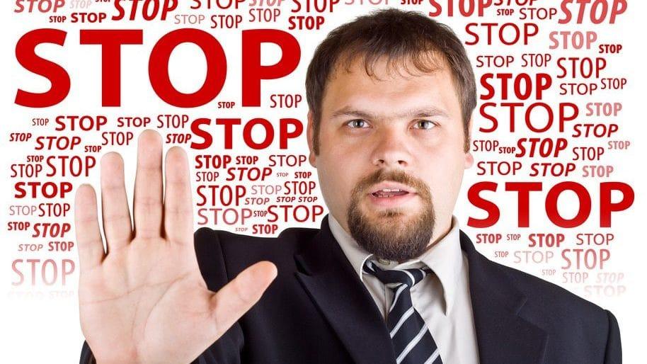 telemarketer - stop