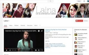 Laina Overly attached girlfriend