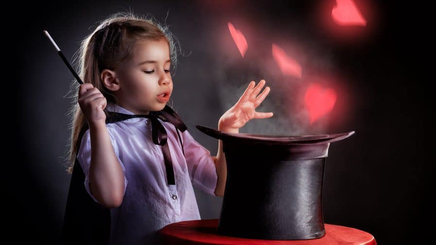 child magician