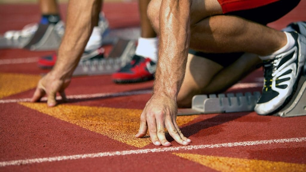 running race start