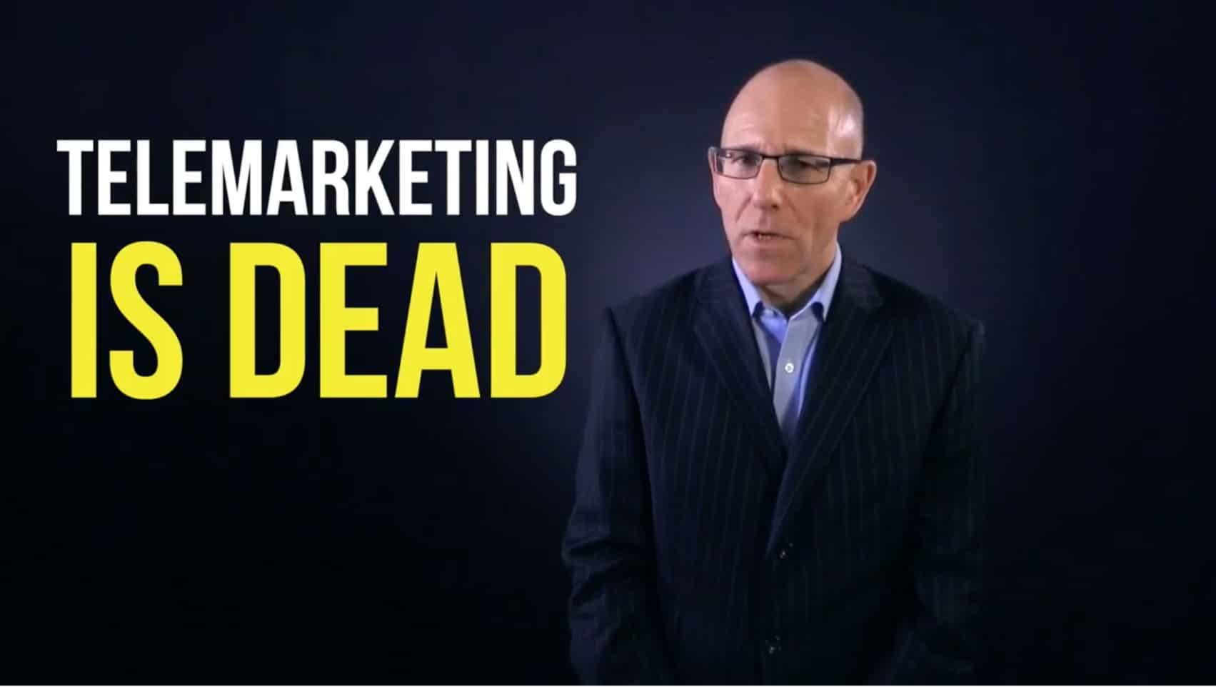 telemarketing is dead