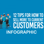 INFOGRAPHIC- How to sell more to current customers?