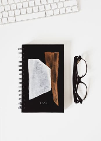 Glasses and Notepad
