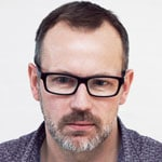 Bearded Man In Glasses Face Image